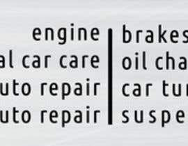 #13 for Auto repair Shop Sign/Banner by sakibalmahmud