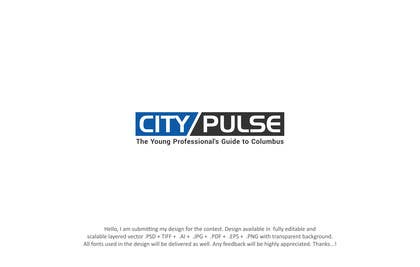 #195 for Design a City Magazine Logo by designpoint52