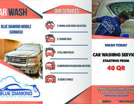 #21 for Brochure for Blue Diamond Mobile Carwash Qatar. by AliShetiwi