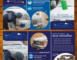 #14 for Brochure for Blue Diamond Mobile Carwash Qatar. by patricashokrayen