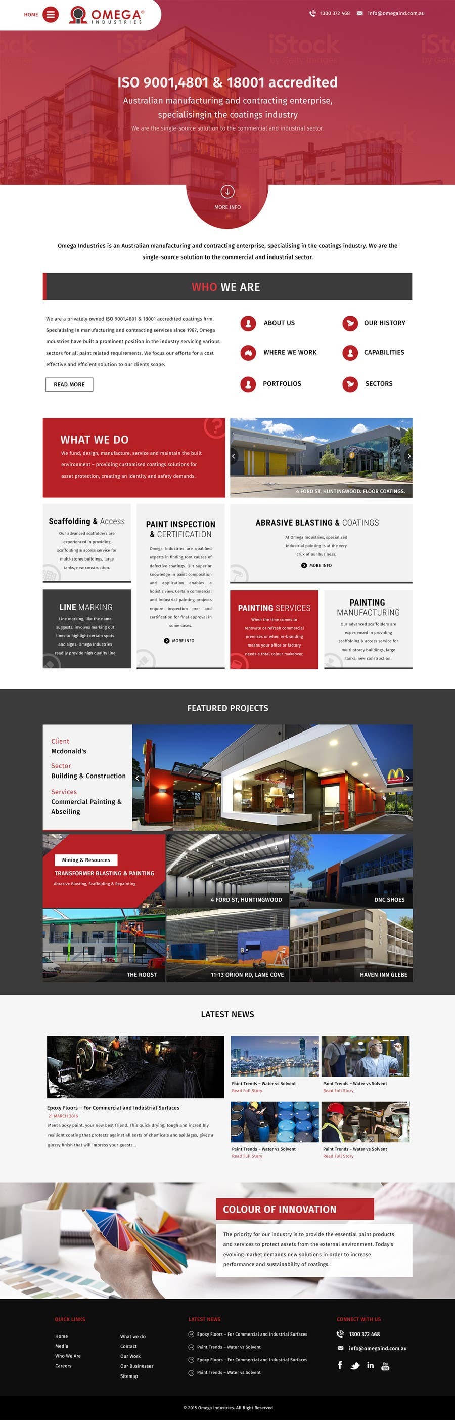 Contest Entry #39 for Build a Corporate Website