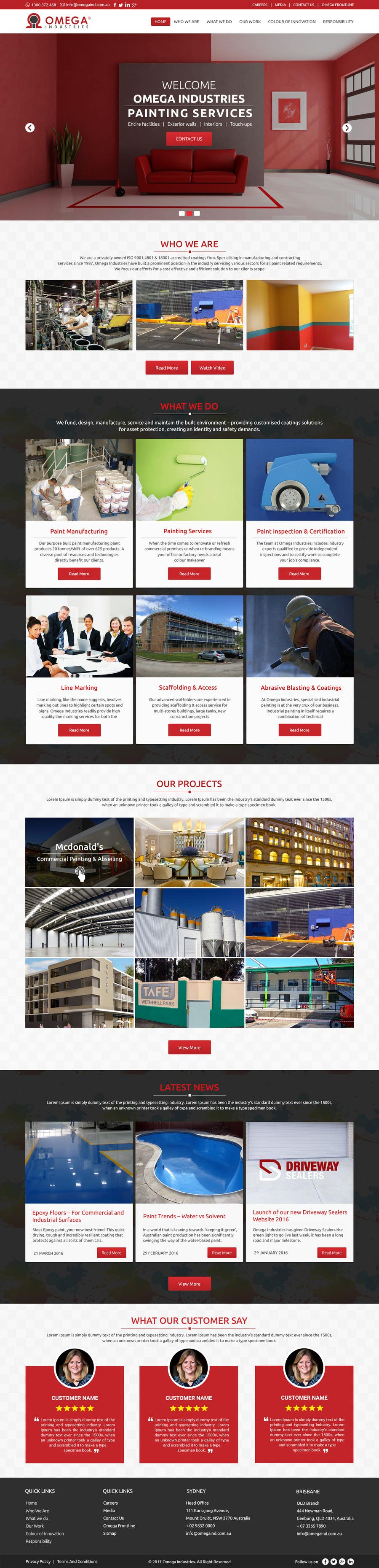 Contest Entry #55 for Build a Corporate Website