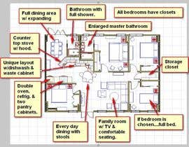 #3 for Interior design For Home using floorplan by ronaaron2