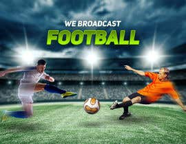 #58 for Football broadcast Wallpaper design by creartarif