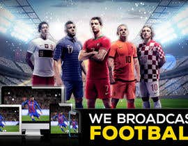 #125 for Football broadcast Wallpaper design by freerix