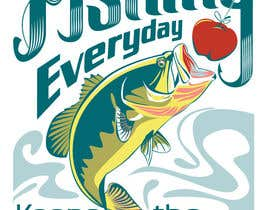 #95 for Design a T-Shirt For Fishing Shop by caloylvr