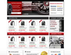 #37 para Website Design for Tyres por dragnoir