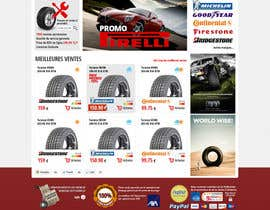 nº 21 pour Website Design for Tyres par hipnotyka