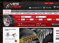 Graphic Design Inscrição do Concurso Nº41 para Website Design for Tyres