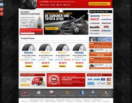 nº 44 pour Website Design for Tyres par dreamsweb