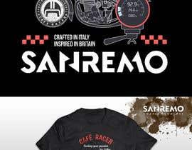 #76 for Sanremo Cafe Racer T shirt Design by glazaropoulos