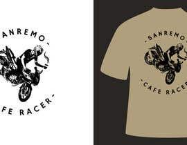 #60 for Sanremo Cafe Racer T shirt Design by ivansmirnovart