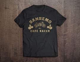 #11 for Sanremo Cafe Racer T shirt Design by ikalt