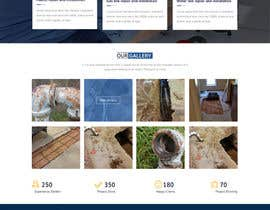 #23 for Design a Website Mockup for Plumbing Company by AdityaAgarwal143