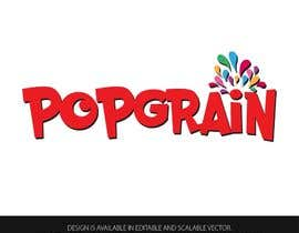 #148 for Design a Logo for POPGRAIN by anjusnav