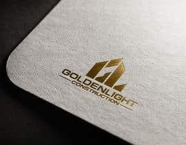 #529 for Design a Logo - Goldenlight Construction by eddesignswork