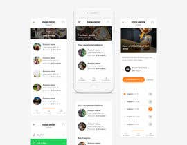 #37 for Design an App Mockup for a food and drink ordering platform by UIXGhost