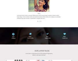 #24 for MODERN AND BEAUTIFUL LANDING PAGE NEEDED FOR BEAUTY COMPANY *URGENT* by HAFIZ779