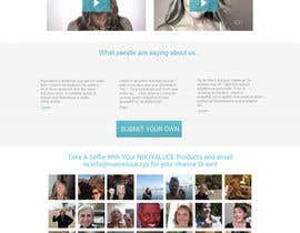 #19 for MODERN AND BEAUTIFUL LANDING PAGE NEEDED FOR BEAUTY COMPANY *URGENT* by adsingh13