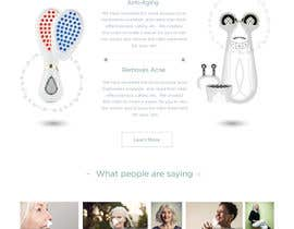 #36 for MODERN AND BEAUTIFUL LANDING PAGE NEEDED FOR BEAUTY COMPANY *URGENT* by rohan0571