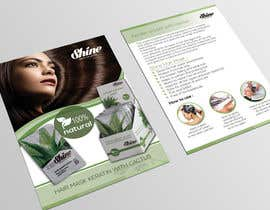 #18 for Design a Flyer of hair care advertising by sharmincm