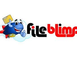 #18 for Logo Design for fileblimp by GreenAndWhite