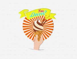 #24 for Ice cream Swirl Logo Design by iShazleen