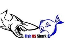 #16 for Fish vs Shark Icon/Logo by shaymaa2014