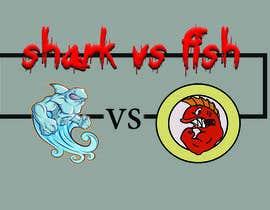 #18 for Fish vs Shark Icon/Logo by mijatt