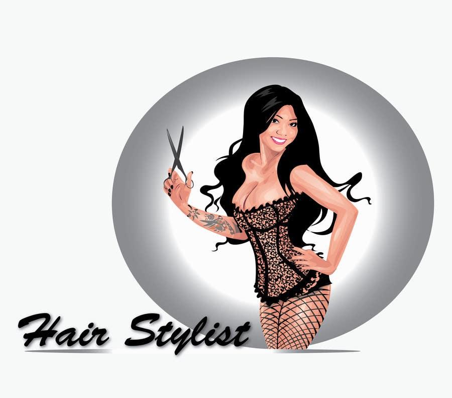 """Intrarea #45 pentru concursul """"Graphic Design for Hair Stylist"""""""
