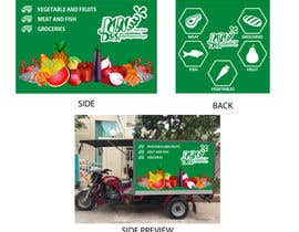 #6 for I need a design for advertisement on delivery vehicle by KhairHakimi