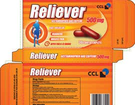 #47 for Label and Carton Design for Over the Counter Drug by cjaraque