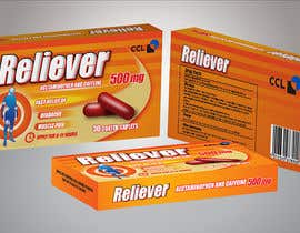 #48 for Label and Carton Design for Over the Counter Drug by cjaraque