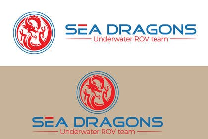"#32 for Design a Logo for underwater ROV team called the ""Sea Dragons"" by LEDP0003"