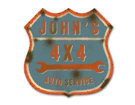 #56 for Logo Design for John's 4x4 Auto Center by GlenTimms