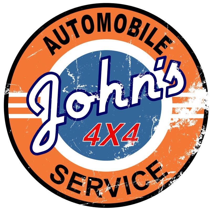 Inscrição nº 38 do Concurso para Logo Design for John's 4x4 Auto Center