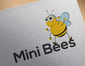 #83 for Design a Logo - The Hardworking Bee by humanlogo