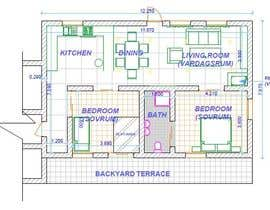 #9 for Update floor plan in existing family home by Fireprince14