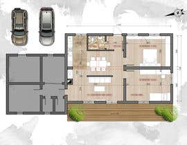 #24 for Update floor plan in existing family home by TatyanaAtanasova