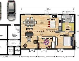 #17 for Update floor plan in existing family home by ennovy