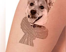 #5 for Design a Tattoo Using Pictures of My Dog by Tharindu12mp