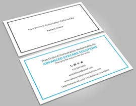 #66 for Design some Referral based Business Cards by imtiazmaruf34