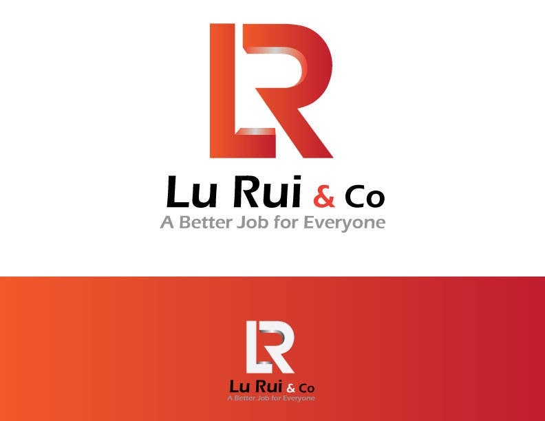 Inscrição nº                                         3                                      do Concurso para                                         Logo Design for Lu Rui & Co: A Better Job for Everyone