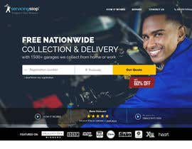 #221 for Landing page for car servicing company - Web design by madlabcreative