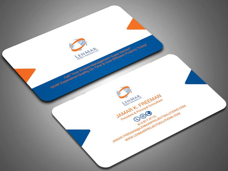 Entry #308 by salmanhossaincti for Design a Business card within 24 ...