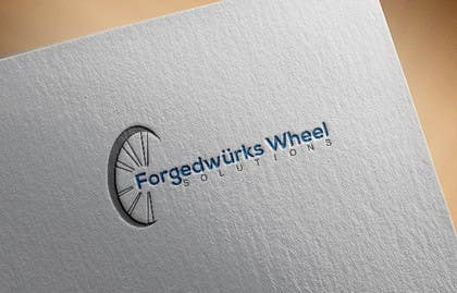 #7 for Forgedwürks Wheel Solutions Logo by Diva01