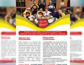 #23 for Cycling Club Flyer add promotion by monir7554