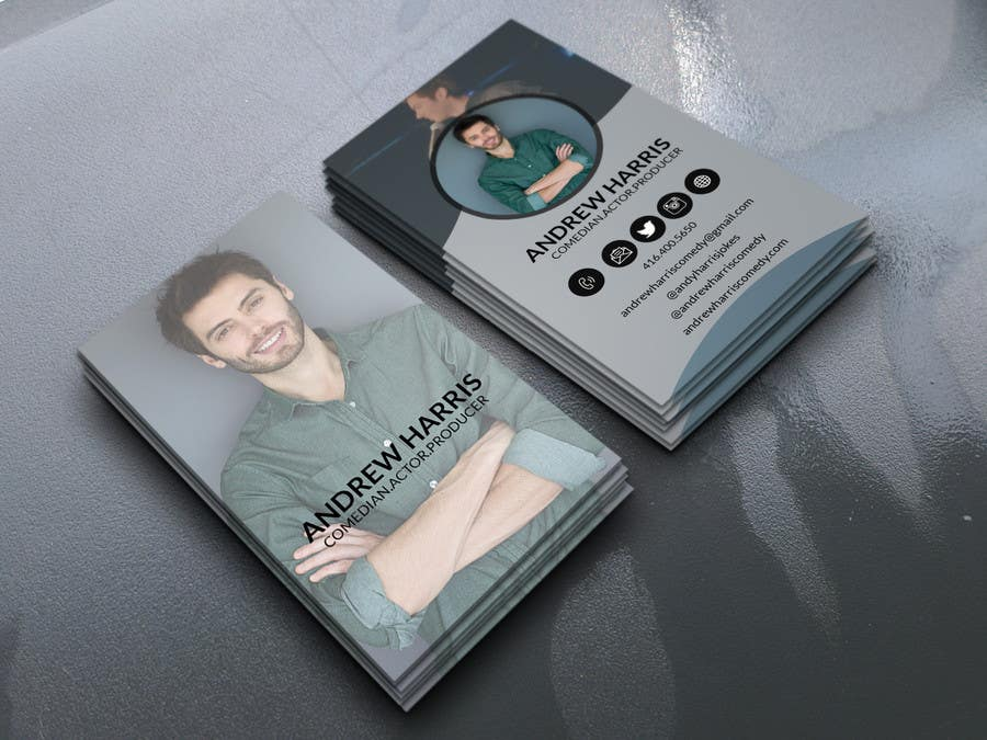 Entry 46 by mdparvezsarkar10 for comedyacting business cards contest entry 46 for comedyacting business cards colourmoves