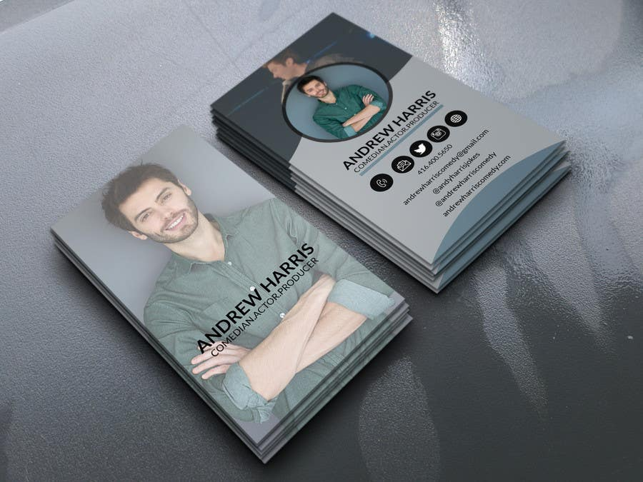 Entry #47 by mdparvezsarkar10 for Comedy/Acting Business Cards ...