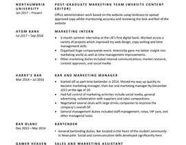 #4 for Design CV. Professional business style by shermaneee